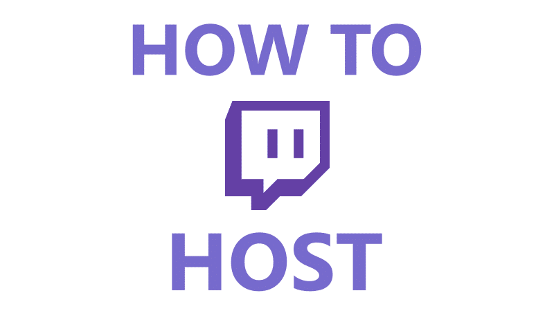 How To Host On Twitch Using Your PC And Smartphone